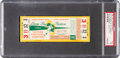 Football Collectibles:Tickets, 1961 NFL Championship Game Packers Vs. Giants Full Ticket PSA NM 7 - 1/1, Highest Graded! ...