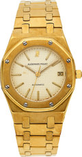 Estate Jewelry:Watches, Audemars Piguet Unisex Gold Royal Oak Automatic Watch. ...