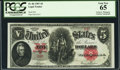 Large Size:Legal Tender Notes, Fr. 86 $5 1907 Legal Tender Courtesy Autograph PCGS Gem New 65.....