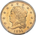 Early Quarter Eagles, 1825 $2 1/2 BD-2, High R.4 -- Scratched -- PCGS Genuine. AUDetails....