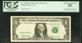 Error Notes:Missing Third Printing, Missing Black Portion of Third Printing Error Fr. 1924-B* $1 1999 Federal Reserve Star Note. PCGS Choice About New 55.. ...