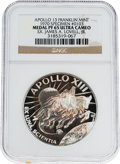 Explorers:Space Exploration, Apollo 13 Unflown PF65 Ultra Cameo NGC Silver Franklin Mint Medal,Serial Number 0103, Directly from the Personal Collection o...