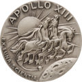 Explorers:Space Exploration, Apollo 13 Flown Silver Robbins Medallion, Serial Number 76, Directly from the Personal Collection of Mission Commander James L...