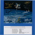 Autographs:Celebrities, Mir Space Station Color Photo Signed by Ten Cosmonauts. ...