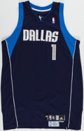 Baseball Collectibles:Uniforms, 2006-07 Greg Buckner Game Worn Dallas Mavericks Jersey with MeiGray Label. ...