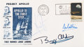 Explorers:Space Exploration, Apollo 11 Crew-Signed Launch Cover Directly from the FamilyCollection of Astronaut Richard Gordon. ...