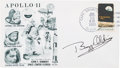 Explorers:Space Exploration, Buzz Aldrin Signed Apollo 11 Launch Cover Directly from the FamilyCollection of Astronaut Richard Gordon. ...