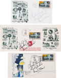 Explorers:Space Exploration, Apollo 12 Crew-Signed Launch, Moonlanding, and Recovery Covers(Three) Directly from the Family Collection of Mission Command ...