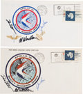 Explorers:Space Exploration, Apollo 15 Crew-Signed Launch and Return Covers (Two) Directly fromthe Family Collection of Mission Back-up Commander Richard ...