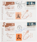 Explorers:Space Exploration, Gemini 11 Fifth Anniversary Signed NASA Local Post First Day Covers(Two) Directly from the Family Collection of Mission Pilot...