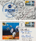 Explorers:Space Exploration, SPACEPEX 1971: Two Signed Covers, Skylab Science Pilots and ShuttleAstronauts, Directly from the Family Collection of Astrona...