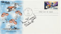 "Autographs:Celebrities, Alan Bean Signed ""Skylab"" First Day Cover Directly from the FamilyCollection of Alan Bean. ..."
