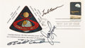 "Explorers:Space Exploration, Apollo 8 Crew-Signed ""Apollo 8"" Stamp First Day Cover Directly fromthe Family Collection of Astronaut Richard Gordon. ..."