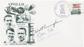 Explorers:Space Exploration, Apollo 7 Crew-Signed Launch Cover Directly from the FamilyCollection of Astronaut Richard Gordon. ...