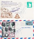 Explorers:Space Exploration, James Lovell Signed Apollo 8 Lunar Orbit and Recovery Covers (Two),Directly from the Family Collection of Astronaut Richard G...