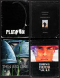 "Movie Posters:Academy Award Winners, Platoon & Others Lot (Orion, 1986). Presskits (4) (9"" X 12"")with Photos (28), and Color Slides (17) (2"" X 2""). Academy Awar...(Total: 4 Items)"