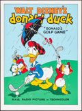 """Movie Posters:Animation, Donald's Golf Game (Circle Fine Art, R-1980s). Fine Art Serigraphs(5) (Identical) (22.5"""" X 30.5""""). Animation.. ... (Total: 5 Items)"""