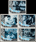 "Movie Posters:Exploitation, Riot on Sunset Strip (American International, 1967). Lobby Cards(5) (11"" X 14""). Exploitation.. ... (Total: 5 Items)"