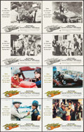 "Movie Posters:Comedy, Smokey and the Bandit (Universal, 1977). Lobby Cards (4) &Australian Lobby Cards (4) (11"" X 14""). Comedy.. ... (Total: 8Items)"