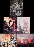 """Movie Posters:Fantasy, Excalibur & Others Lot (Warner Brothers, 1981). Deluxe Lobby Cards (5), Lobby Cards (4) (11"""" X 14""""), & Trimmed Mini Lobby Ca... (Total: 11 Items)"""