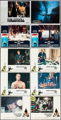 """A Clockwork Orange & Others Lot (Warner Brothers, 1971). Lobby Cards (10) (11"""" X 14""""). Science Fiction..."""