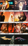 "Movie Posters:Comedy, Galaxina (Crown International, 1980). Mini Lobby Card Set of 8 (8"" X 10""). Comedy.. ... (Total: 8 Items)"