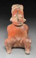 Pre-Columbian:Ceramics, A Jalisco Figure...