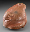 Pre-Columbian:Ceramics, A Nayarit Toad with Toadlet on Back...