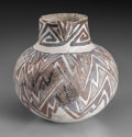 American Indian Art:Pottery, A Tularosa Black-On-White Jar...