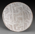 American Indian Art:Pottery, A Chaco Black-On-White Bowl...