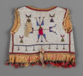 American Indian Art:Beadwork and Quillwork, A Sioux Child's Beaded Hide Vest...