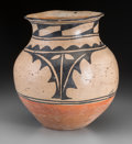 American Indian Art:Pottery, A Santo Domingo Polychrome Jar...
