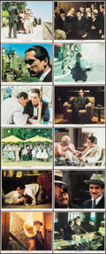 "Movie Posters:Crime, The Godfather Part II (Paramount, 1974). Mini Lobby Card Set of 12(8"" X 10""). Crime.. ... (Total: 12 Items)"