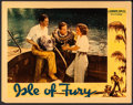 "Movie Posters:Adventure, Isle of Fury (Warner Brothers, 1936). Lobby Card (11"" X 14"").Adventure.. ..."
