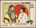"Movie Posters:Romance, The Sheik (Paramount, 1921). Lobby Card (11"" X 14""). Romance.. ..."