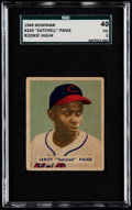 Baseball Cards:Singles (1940-1949), 1949 Bowman Satchell Paige #224 SGC 40 VG 3....