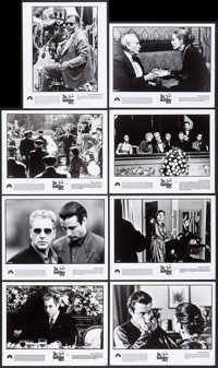 """The Godfather Part III (Paramount, 1990). Presskit (9"""" X 12"""") with Photos (10) (8"""" X 10""""). Crime..."""