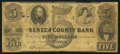 Obsoletes By State:Ohio, Tiffin, OH- Seneca County Bank $5 June 1, 1856. ...
