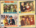 "Movie Posters:Western, Dangerous Venture & Others Lot (United Artists, 1947). Lobby Cards (4) (11"" X 14""). Western.. ... (Total: 4 Items)"