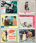 """Movie Posters:Foreign, Mademoiselle Striptease & Others Lot (DCA, 1956). Title Lobby Card & Lobby Cards (5) (11"""" X 14""""). Foreign.. ... (Total: 6 Items)"""