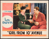 """The Girl from 10th Avenue (First National, 1935). Lobby Card (11"""" X 14""""). Drama"""