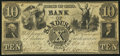Obsoletes By State:Ohio, Sandusky, OH- Bank of Sandusky $10 Oct. 2, 1848. ...