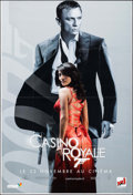 "Movie Posters:James Bond, Casino Royale (MGM, 2006). French Subway (46.5"" X 69"") Advance.James Bond.. ..."
