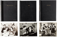 """A Dick Powell Group of Personally-Owned Photo Albums from """"42nd Street,"""" """"Dames,"""" and """"Stage St..."""