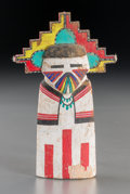 American Indian Art:Kachina Dolls, A Hopi Cottonwood Kachina Doll. ...