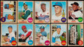 Baseball Cards:Sets, 1968 O-Pee-Chee Baseball Complete Set (196) - With Nolan Ryan Rookie. . ...