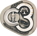 Explorers:Space Exploration, Skylab III (SL-4) Unflown Silver Robbins Medallion, Serial Number165, Originally from the Personal Collection of Astronaut Al...