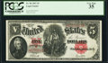 Large Size:Legal Tender Notes, Fr. 90 $5 1907 Legal Tender PCGS Very Fine 35.. ...