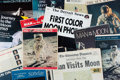 Explorers:Space Exploration, Apollo 11: Large Collection of July and August 1969 SouvenirPublications, One Signed by Buzz Aldrin. ...