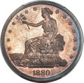 Proof Trade Dollars, 1880 T$1 PR65+ PCGS....